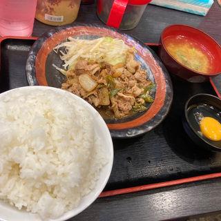 スタミナ焼き肉定食