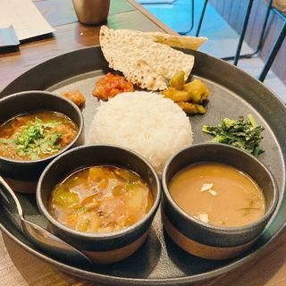 WEEK DAY LUNCH MENU  Dal Bhat Lunch