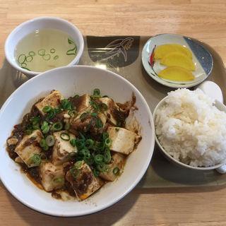 オリジナル麻婆豆腐定食