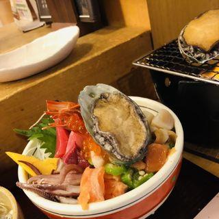 熊石どか盛り海鮮丼