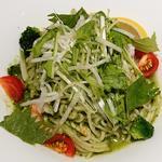 海老と香味野菜のサラダ麺