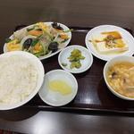 木須肉ランチ