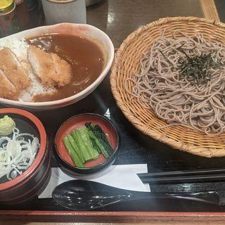 かつカレー丼定食