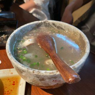 テールスープ(コムタンスープ)