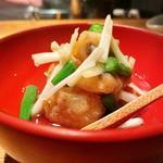 太刀魚と黄ニラの揚げ出汁