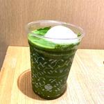 抹茶レモンフロートソーダ