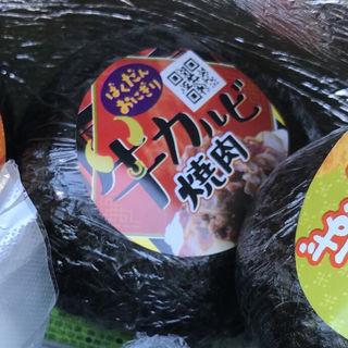 ばくだんおにぎり(牛カルビ焼肉)