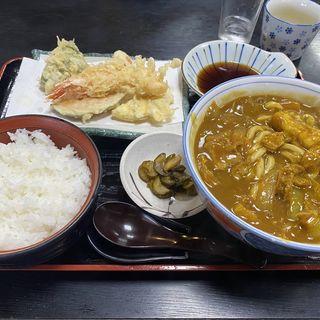 カレーうどん定食(清平 )