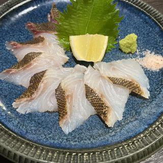 イサキ炙り刺し(魚喜)