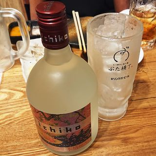 いいちこ(ボトル)(ぶた横丁 京急蒲田店)