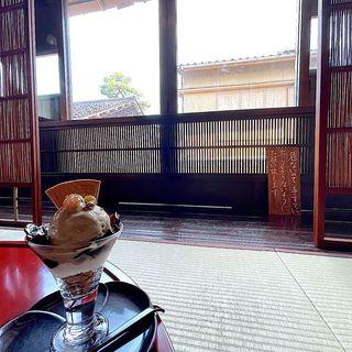 加賀棒茶パフェ