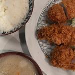 ひれかつ定食(とんかつ檍 浅草橋店)