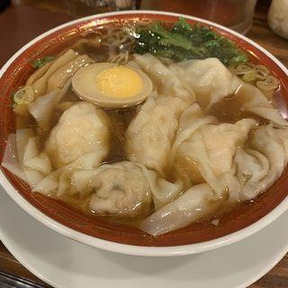 二種盛り雲呑麺(広州市場 西新宿店 )