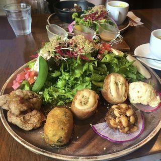 ガーデンサラダ&デリプレート(チャヤマクロビ 伊勢丹新宿店 )