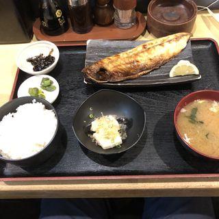 トロサバ定食