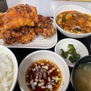 ザンギB定食(中国料理 布袋)