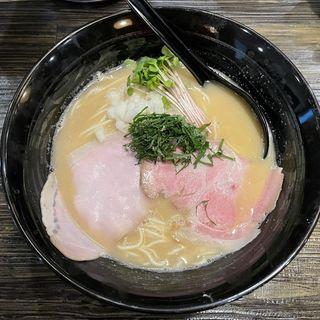 真鯛白湯そば 温(魚々麺 園)