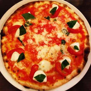 ジャニコロ風マルゲリータ(ピッツェリア ロマーナ ジャニコロ (Pizzeria Romana Gianicolo))