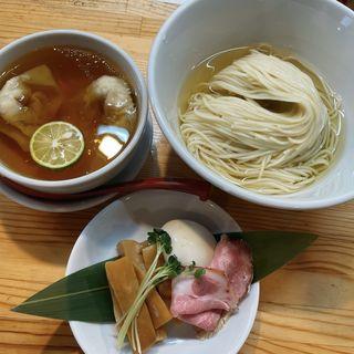 濃厚清湯白醤油つけ麺(自家製麺 くろ松)