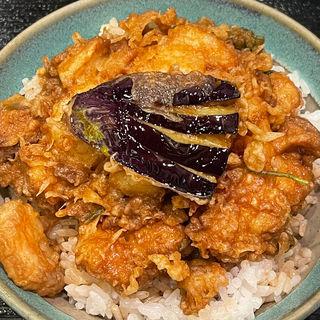 かき揚げ天丼(天康 (てんやす))