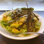 豆腐とアボガドの和風サラダ