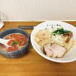 鶏と帆立の辛いつけ麺