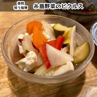 糸島野菜のピクルス