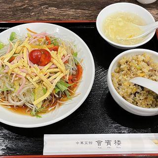 サラダ冷麺セット