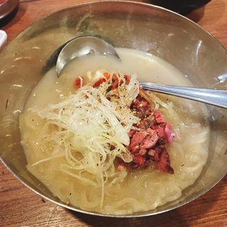 コムタン冷麺
