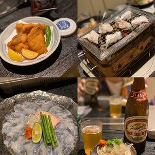 上焼きフグコース(梅田 ふぐ乃助)