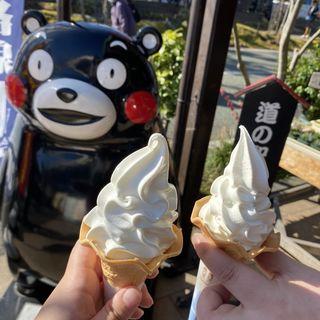 ソフトクリーム(阿部牧場)(道の駅 阿蘇 )