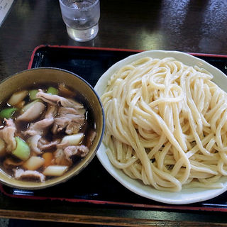 肉汁うどん(中)(藤店うどん)