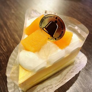 北海道赤肉メロンのショートケーキ