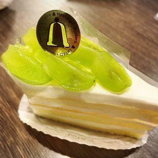 シャインマスカットショートケーキ
