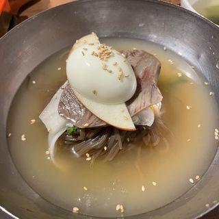 冷麺 石焼ビビンバセット