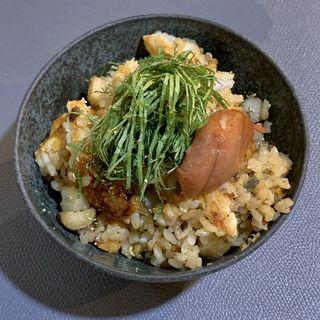 鰻の炊き込みご飯