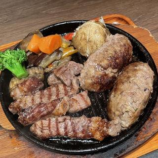 プレミアム肉祭りランチセット
