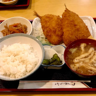 アジフライ定食(まこと )