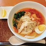 ハーブ鶏の七榖冷麺(デニーズ 小金井南店 )