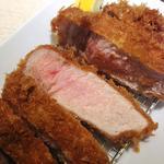 厚切りロース豚かつ定食