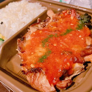 たんぱく質が摂れるグリルチキン弁当 玄米入