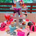 Halloween Pink Afternoon Tea
