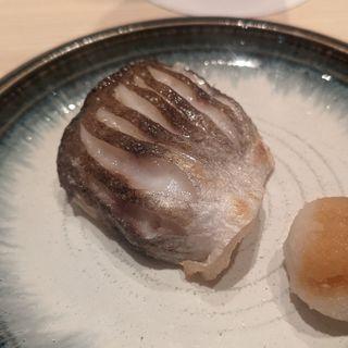 カマス塩焼き(鮨利﨑 青山)