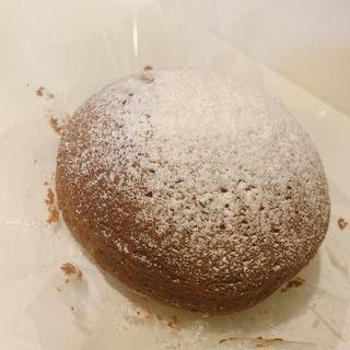 豆乳チョコレートスフレチーズケーキ