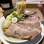 丸鶏醤油ちゃーしゅうわんたん麺