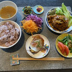 vege PLATE(豪州黒牛x薩摩黒豚ハンバーグ)