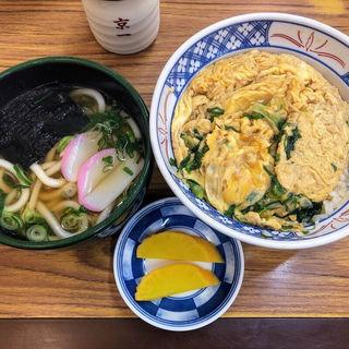 玉子丼セット