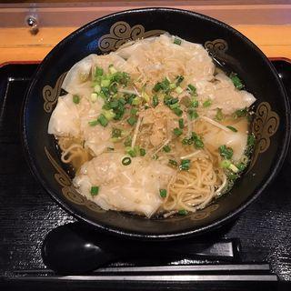 生姜塩ワンタン麺