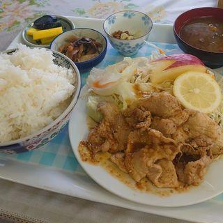 生姜焼き定食+大盛り