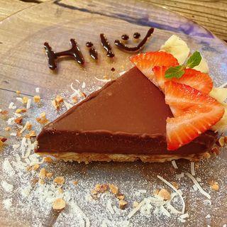 チョコレートタルト